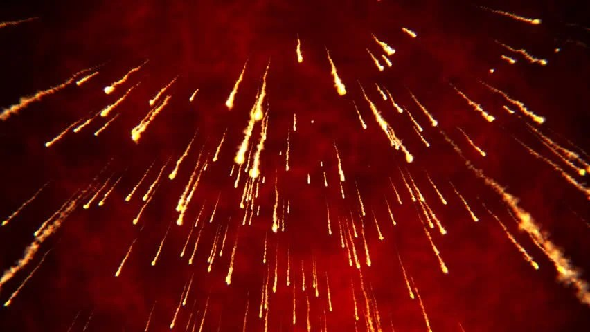 Falling From Stars Wallpaper Abstract Animation Of Fire Rain Stock Footage Video 100