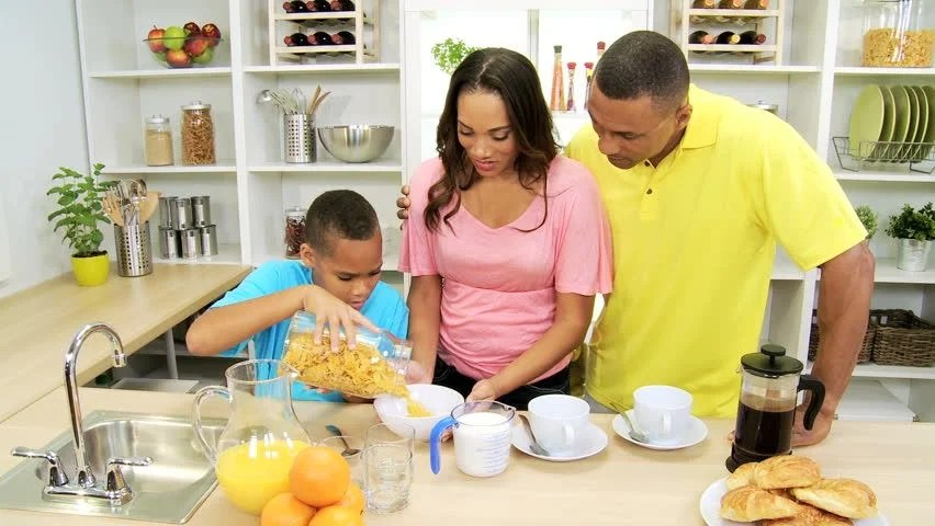 Image result for stock photos of healthy black family