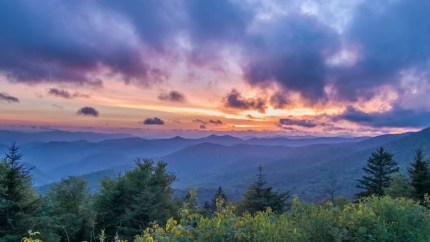Image result for beautiful ridge at sunset