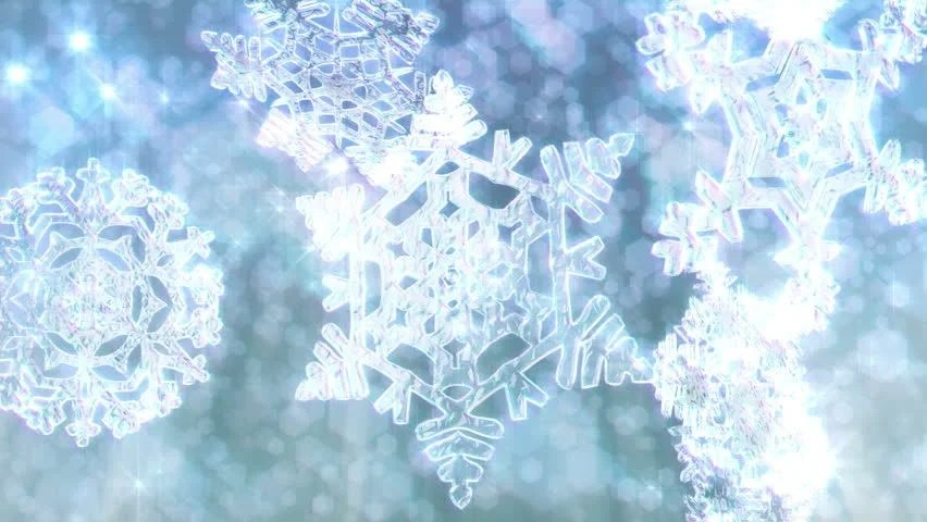 Falling Snow Live Wallpaper For Pc Stock Video Of Big Christmas Snowflakes Loop With Sparkly