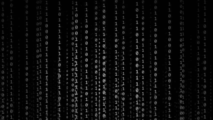 Matrix Falling Code Wallpaper Download Binary Code Numbers Moving Across The Screen Similar To