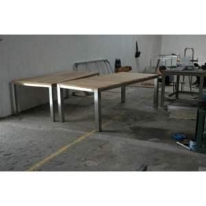110 JRSR-Berlin Table 220 with Teak