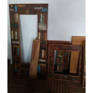 91 JRBW-04 Mirror Square & Tall