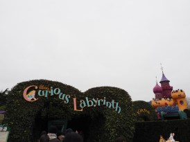 Our first attraction was the Curious Labyrinth