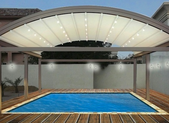 Swimming pool shades in Dubai