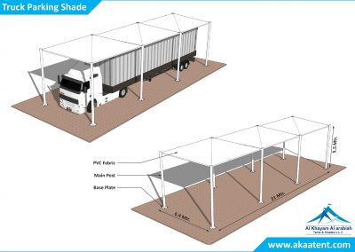 Parking sheds UAE