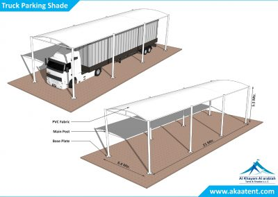 Parking Shades in UAE Dubai