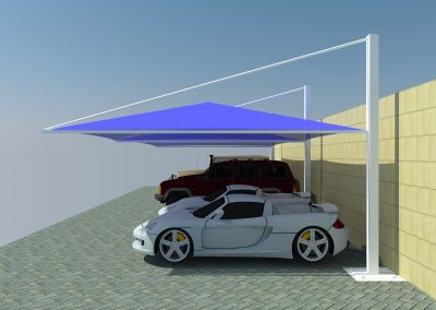 Car Parking Shades in UAE
