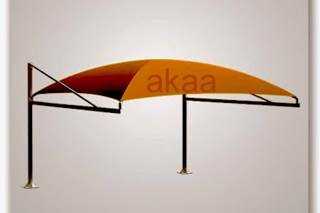 PYRAMID ARCH DESIGN PARKING SHADES uae