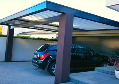 Aluminum Louvered Pergola