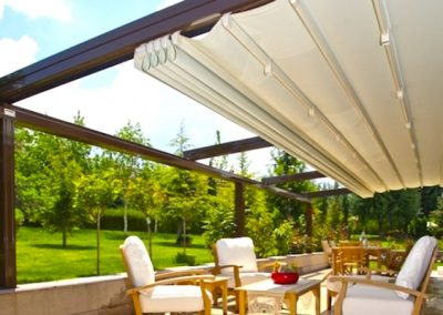 Retractable Roof Pergola Retractable Shade