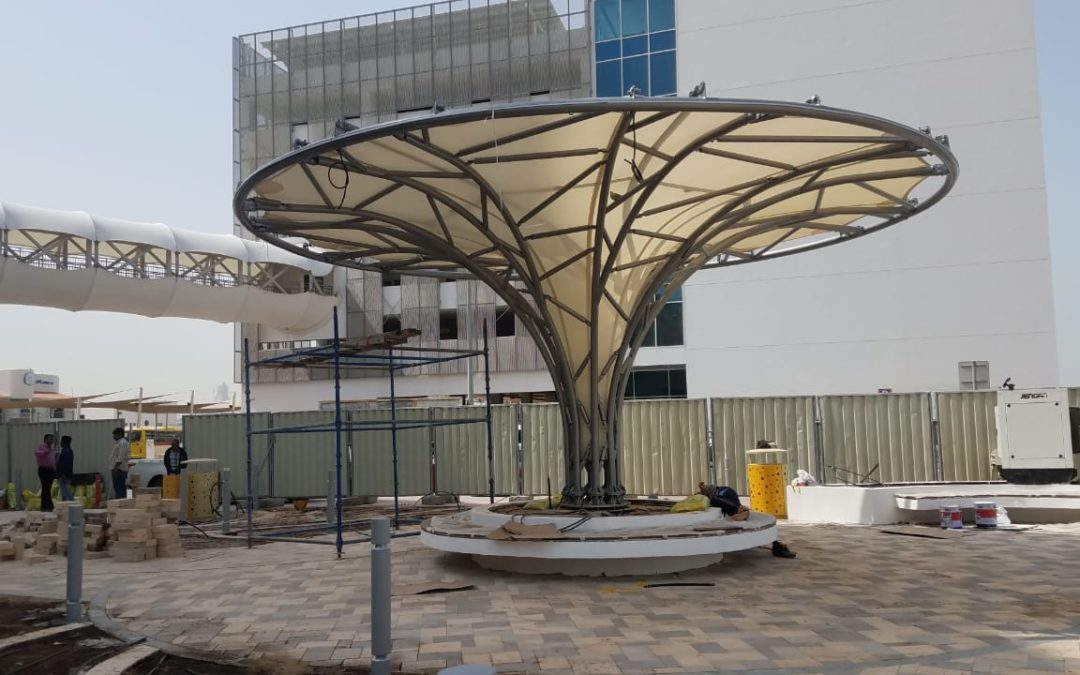 Sun Shade Installation in Dubai – Manufacturer and Supplier