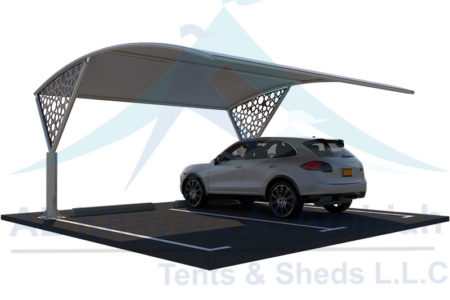 cnc car parking shades