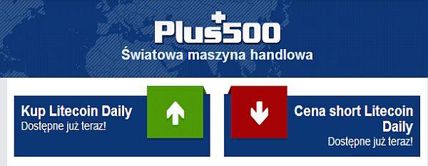 plus500 litecoin wirtualna waluta brokerzy forex opinie