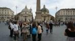 Na Piazza del Popolo