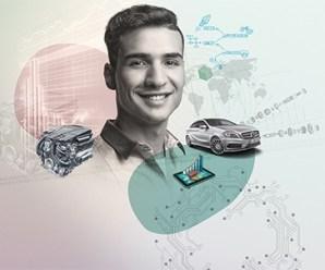 Mercedes Benz'de yaz stajı ve ücretli stajyer geliştirme programı