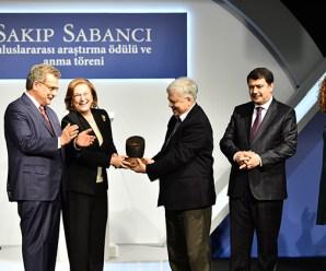 Sakıp Sabancı Uluslararası Araştırma Ödülü Sahiplerini Buldu