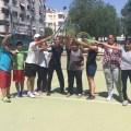 TEGV çocuklarına ücretsiz tenis dersi