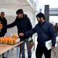 Üniversitede 'Çorbaya kal, büte kalma' etkinliği