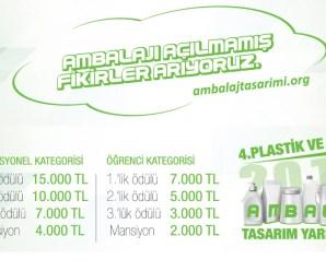 Plastik ve Metal Ambalaj Tasarım Yarışması