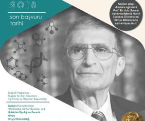 Profesör Aziz Sancar ABD'de Doktora Bursu