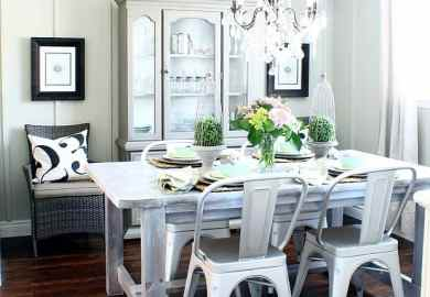 Rustic Farmhouse Dining Room Chairs