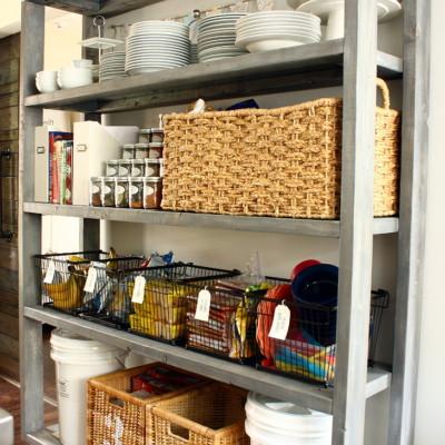 Diy Rolling Pantry Shelves