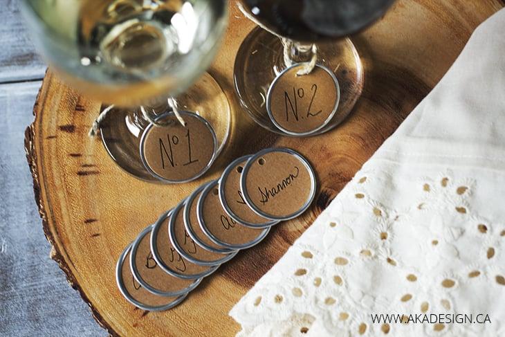 Easy DIY Wine Glass Charms