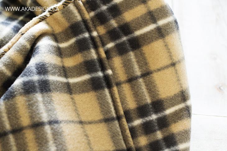 fleece infinity scarf diy