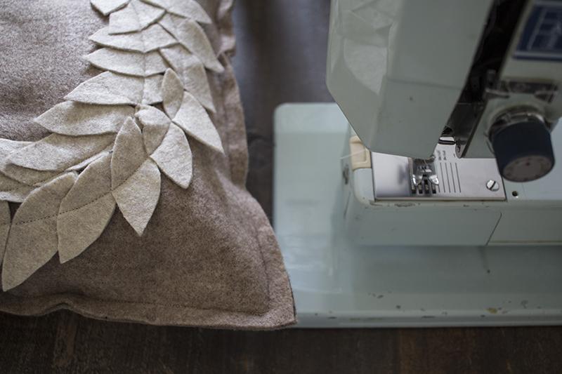 AKA Design Felt Wreath Pillow Sew Fourth Side BLOG PIC