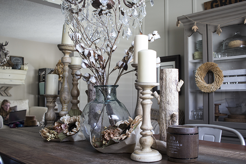 AKA Design Rustic Fall Dining Room 7