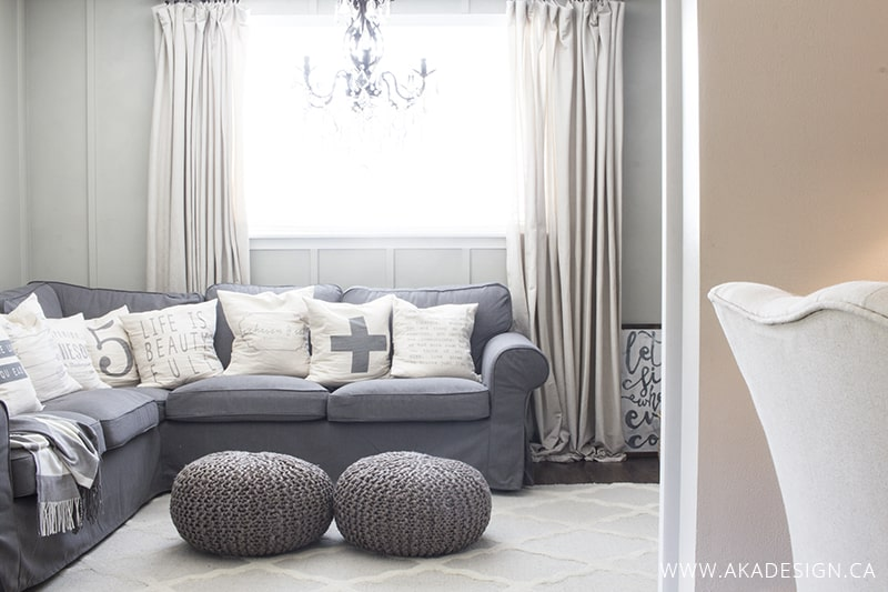 ikea sectional sofa covers sprung mattress beds uk white slipcovers are not easy to keep clean!