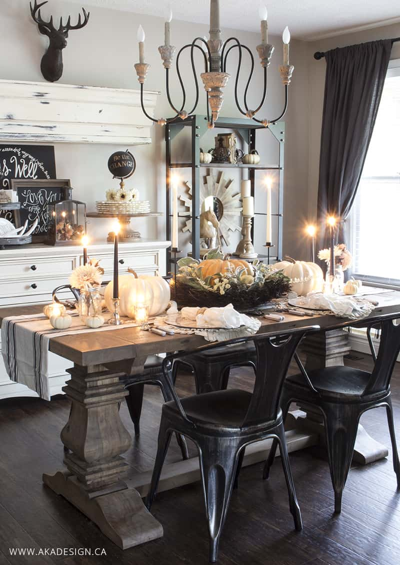 French Country Dining Table Centerpiece