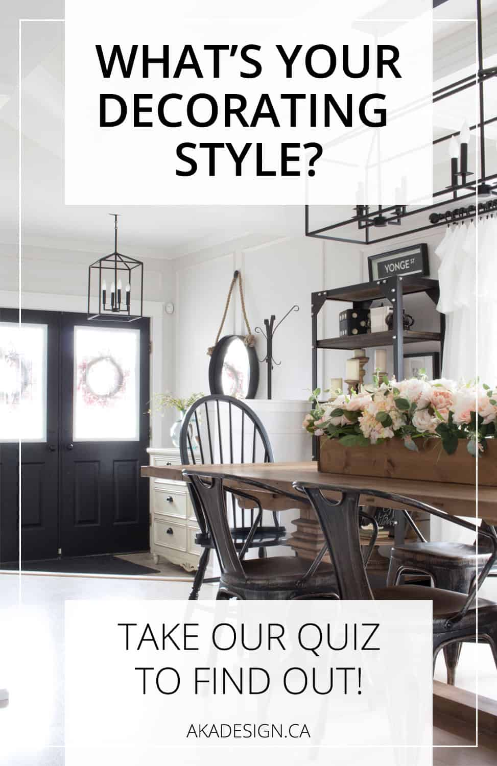 Free Quiz Your Decorating Style