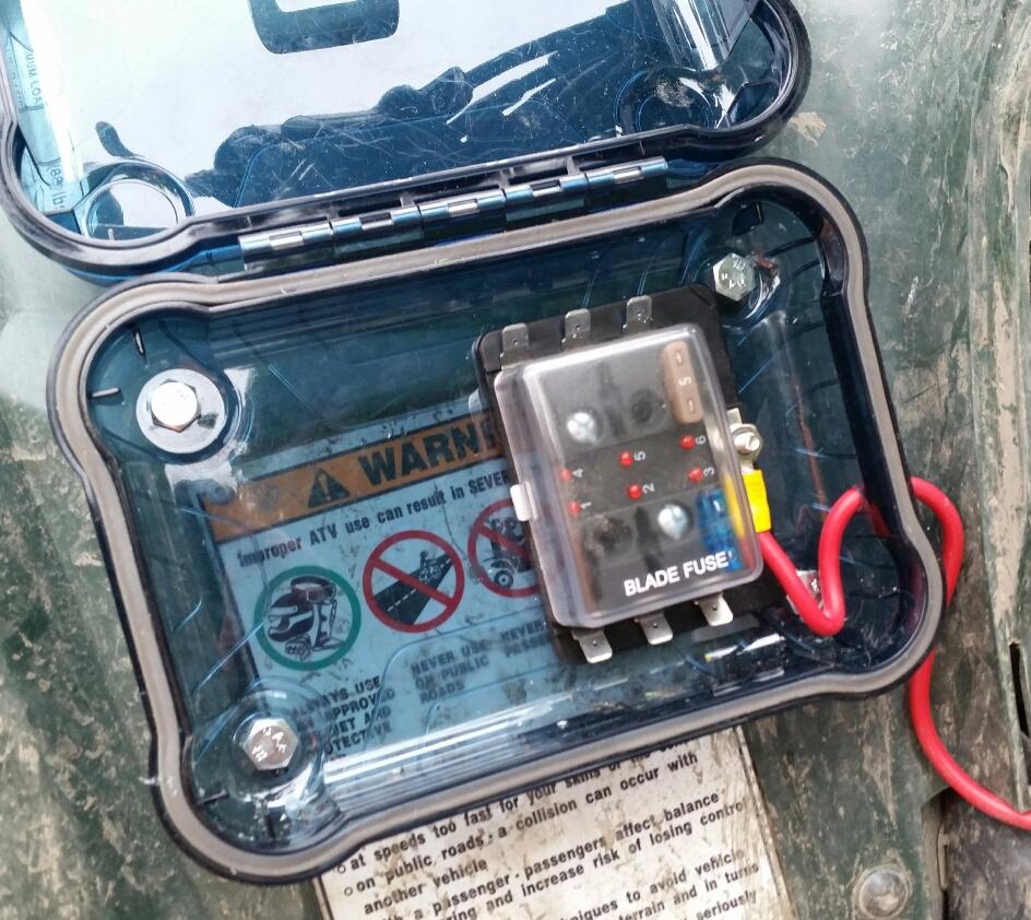 medium resolution of atv auxiliary fuse block alaskan adventurer