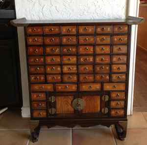 Build Woodworking Plans Apothecary Chest DIY PDF in wall