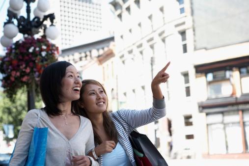 バンクーバー観光を楽しむ日本人留学生