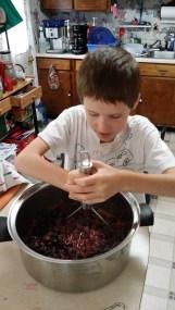Sean Smashing Berries