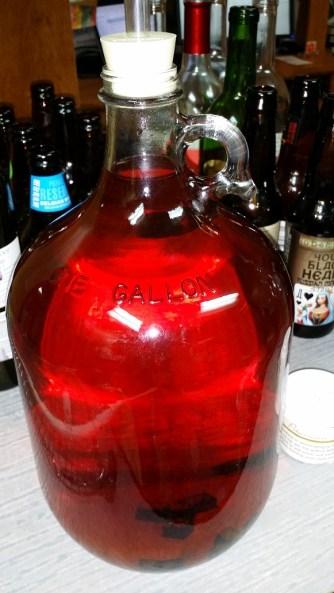 Oaked Plum, Ready For Pre-Bottling