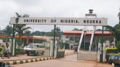 UNN Gate UNN Logo UNN Main Gate