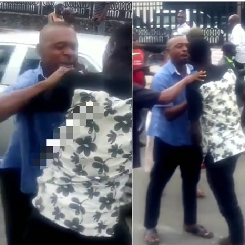 Man fights Lagos bus conductor over N50 change
