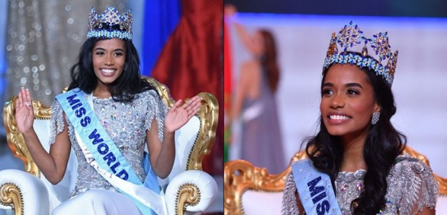 Image result for Miss Jamaica, Toni-Ann Singh. wins 2019 Miss World pageant (photos)