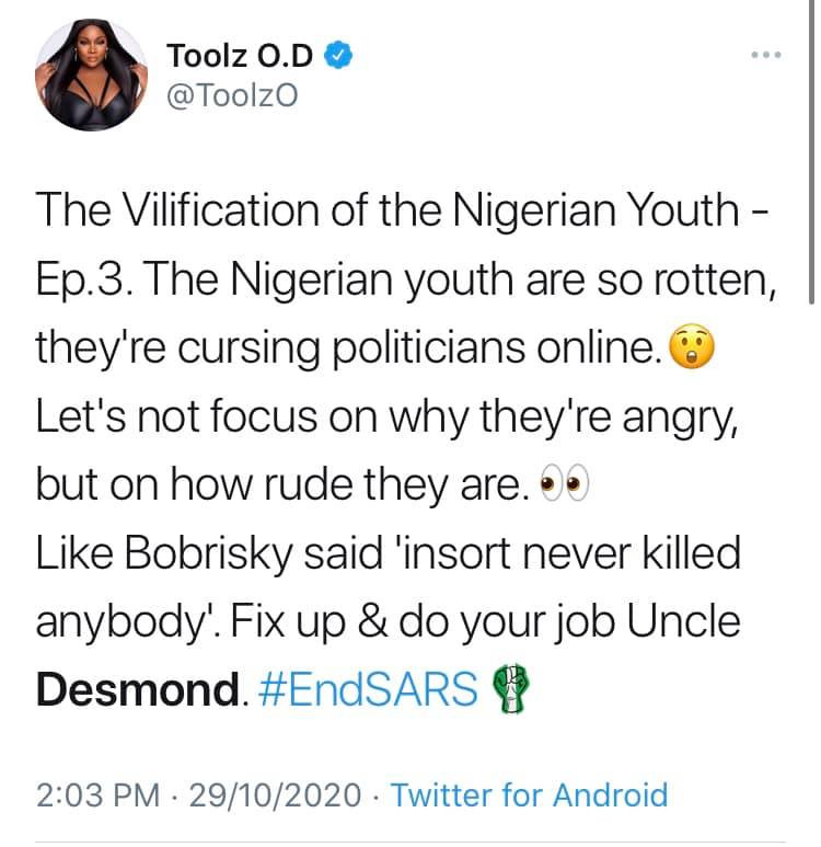 You are cancelled - Nigerian celebrities call out Desmond Elliot over his comment about celebrities and influencers lindaikejisblog 13
