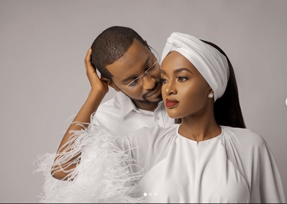Hanan Buhari shares loved up photos with her husband, Turad lindaikejisblog 1