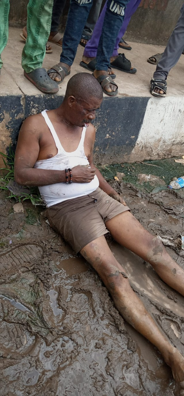 Man allegedly beaten mercilessly by Ogun Parking Management officers lindaikejisblog 2
