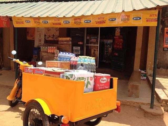 wazobia tricycle invented Austin Chenge by