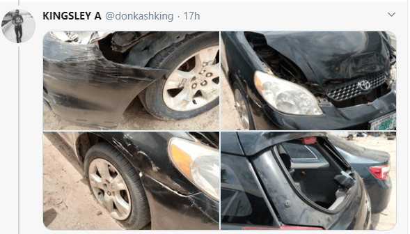 Taxi driver narrates how SARS officers asked him to mobilize them with N20k after he escaped from ritualists lindaikejisblog 2