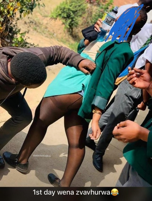 Zimbabwean kids posing for s3xually suggestive photos in school while teachers are on strike sparks concern lindaikejisblog 4