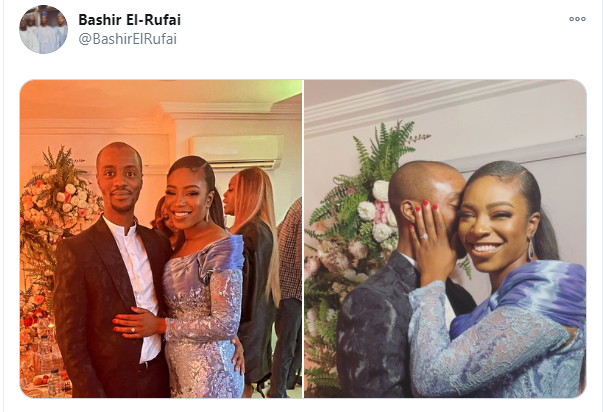 Muslims call out Bashir El-Rufai over 'inappropriate ' loved-up photos with his bride lindaikejisblog 1