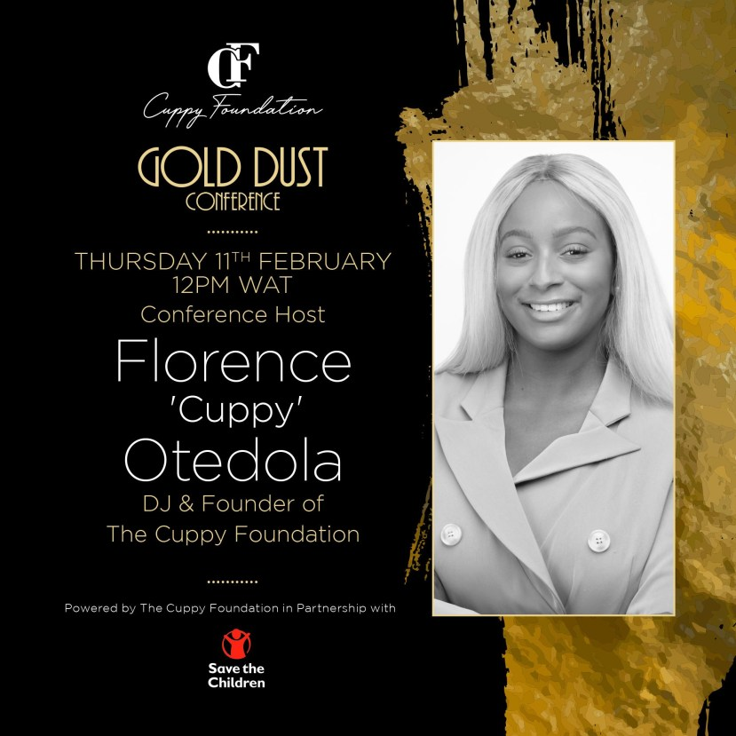 Cuppy announces first ever online conference, #CuppyGoldDust lindaikejisblog51